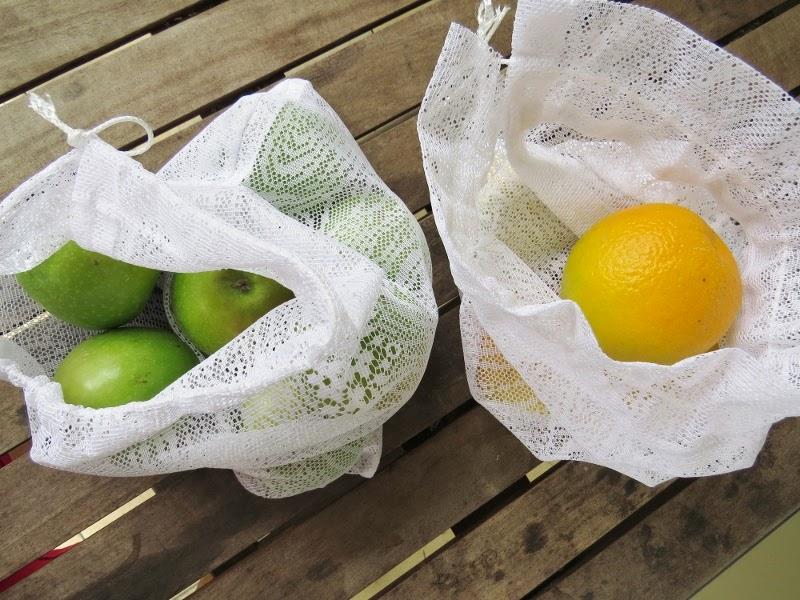Curtain produce bags