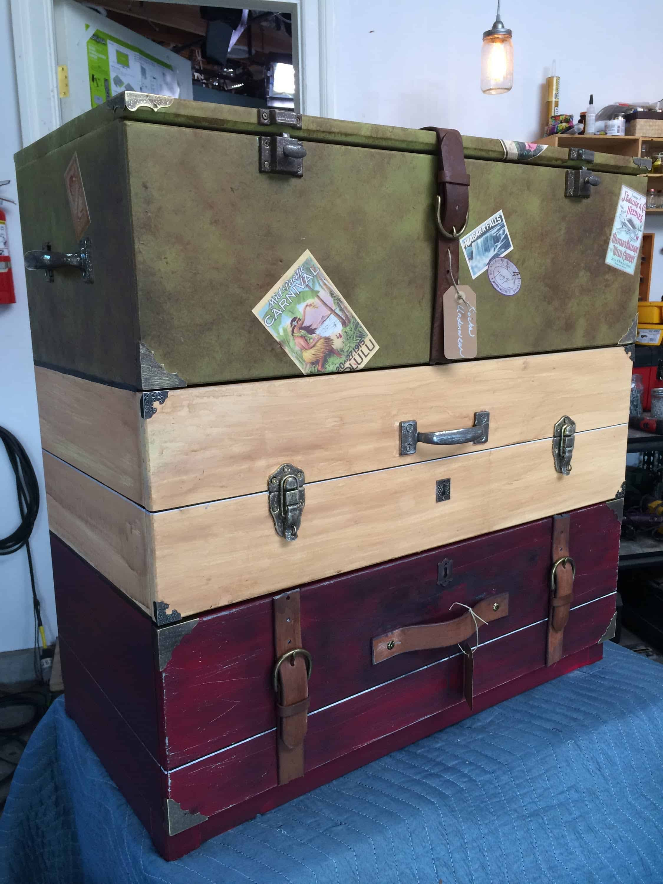 Diy Decor Ingenious Ways To Upcycle Old Suitcases In Style