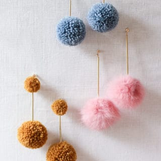 Colorful and Funky: 15 Super Fun DIY Pom Pom Jewelry