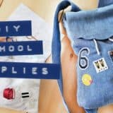 Back to School with DIY School Supplies!