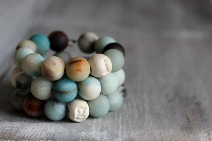 Diffuser bead bracelet