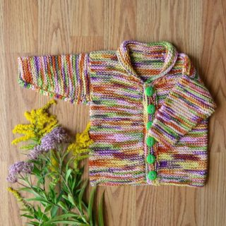 15 Beautiful Knitted Baby Sweater Patterns to Get Ready for Winter