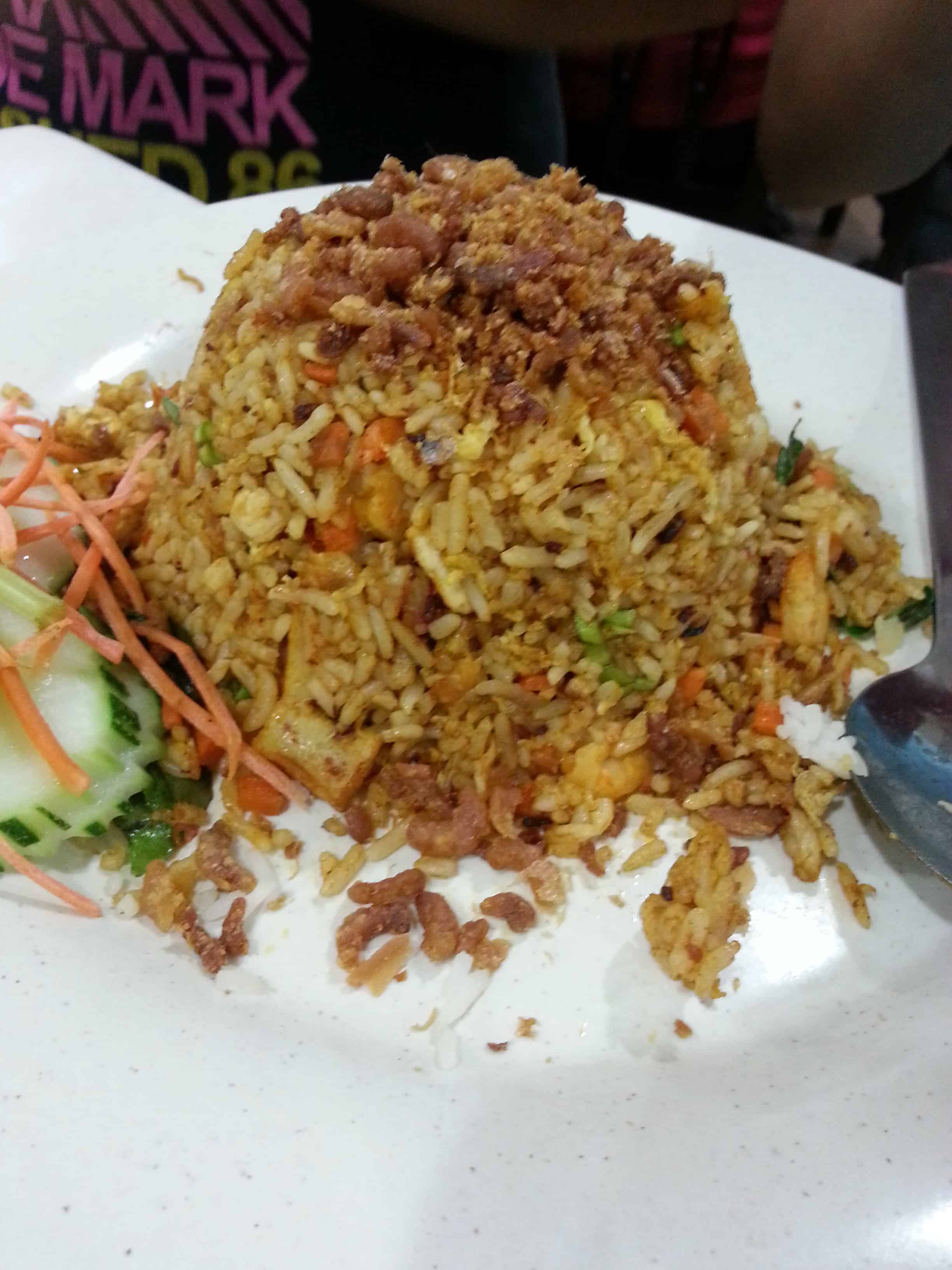 Golden curry fried rice