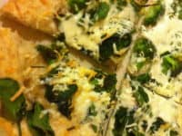 Homemade spinach broccoli and goat cheese pizza 200x150 Healthy and Tasty: 13 Delicious Recipes for Broccoli Enthusiasts