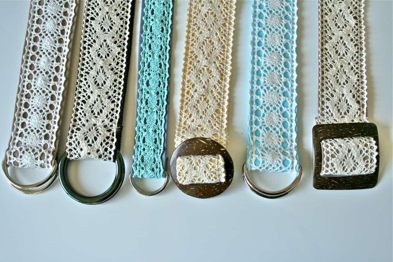 Lace belts