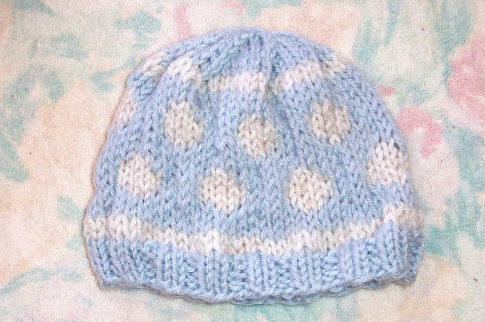 Free Knitting Patterns For Baby Hats Custom Decorating Design