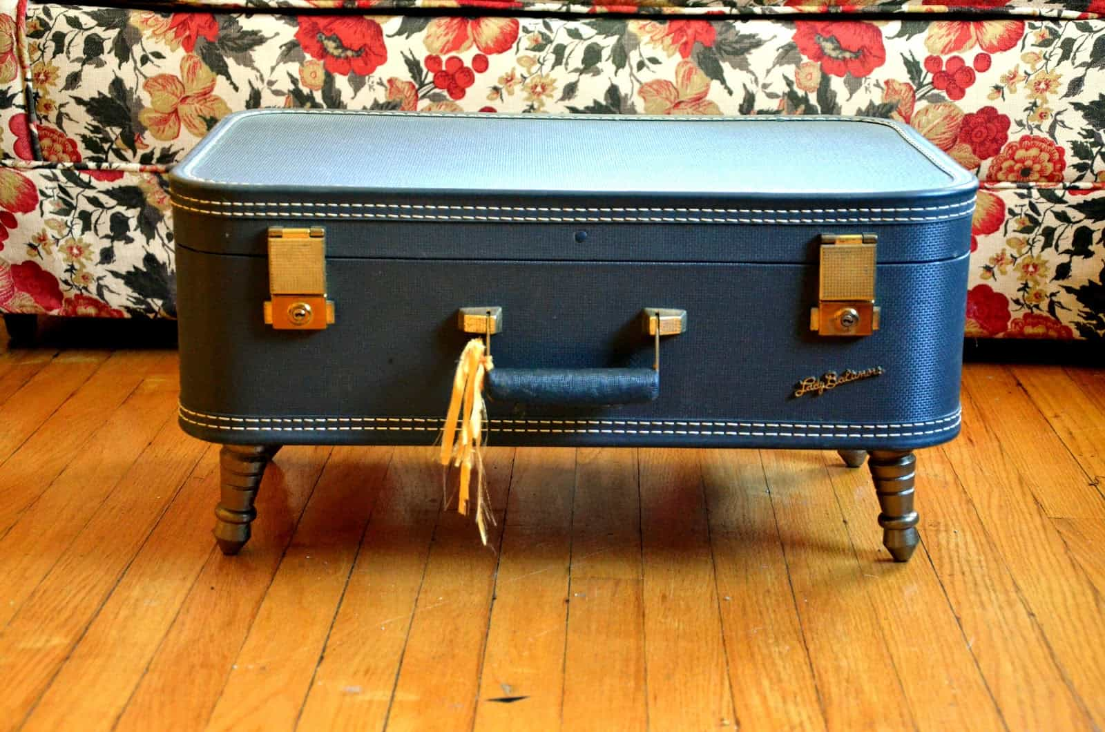 Low vintage suircase coffee table