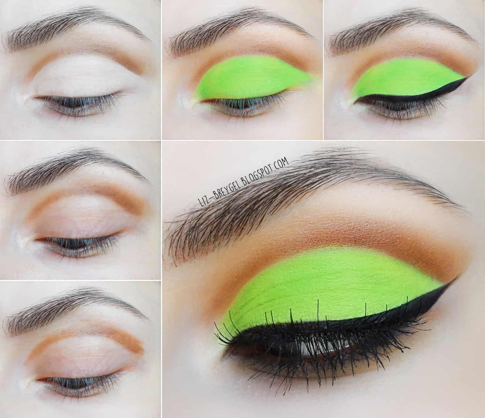 Natural brown, lime green, and a neat black wing