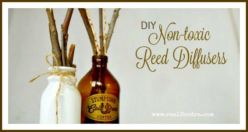 Natural reed diffusers
