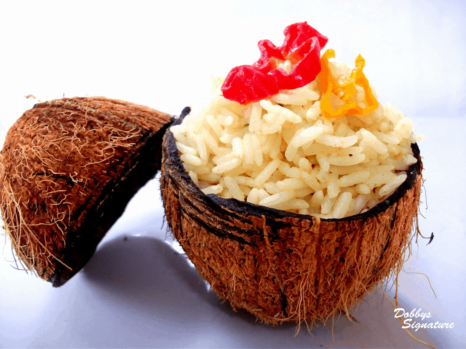 Nigerian coconut rice