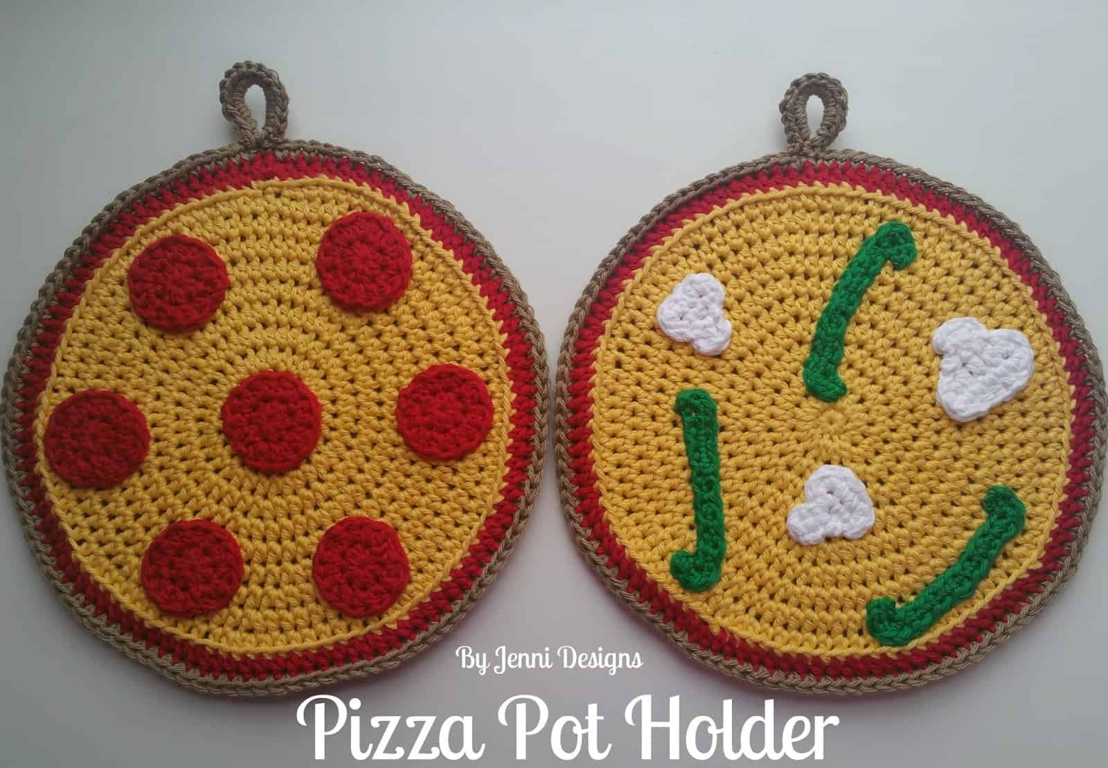 Pizza pot holder