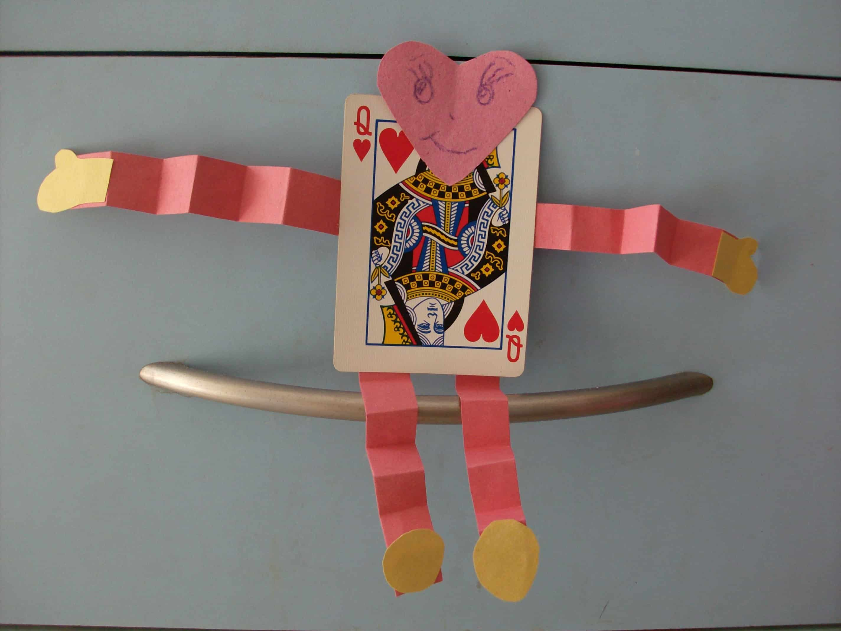 Playing card Valentines
