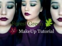 Shimmering forest green makeup tutorial 200x150 Inspired by Nature: Gorgeous Makeup Looks for those Who Love Green!