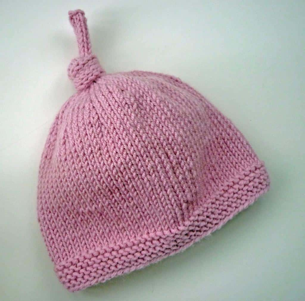 Simply Adorable  15 Super-Cute Knitted Newborn Hats 3a128904b2d