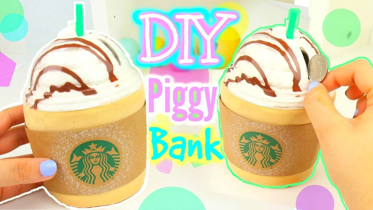 Starbucks piggy bank