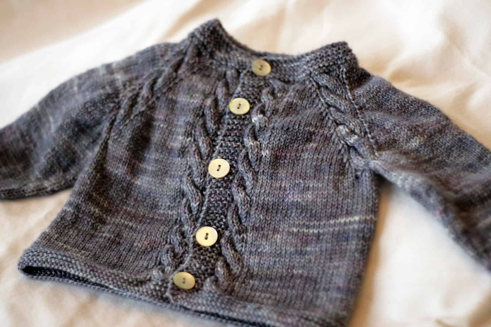 Sunnyside baby cardigan 15 Beautiful Knitted Baby Sweater Patterns to Get Ready for Winter