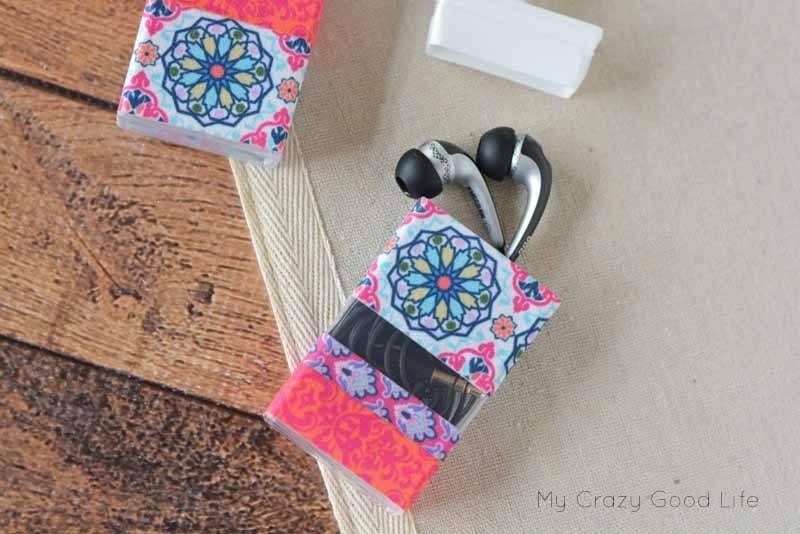 Tic Tac earphone holder