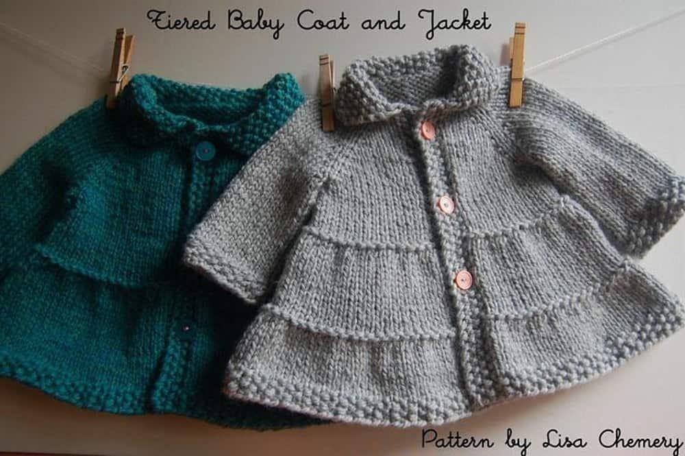 Tiered baby coat