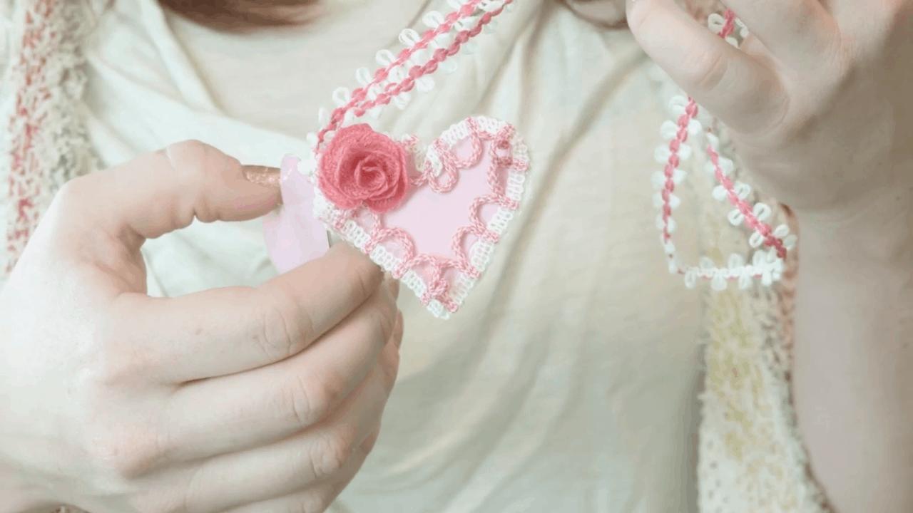 Valentine's day locket