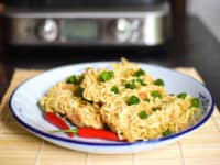 Waffle ramen 200x150 Gridded Cuisine: Awesome Recipes Made with Waffle Maker