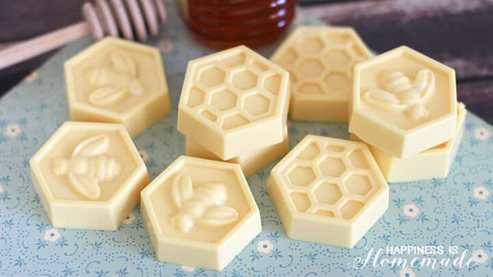 10 minute milk and honey soap