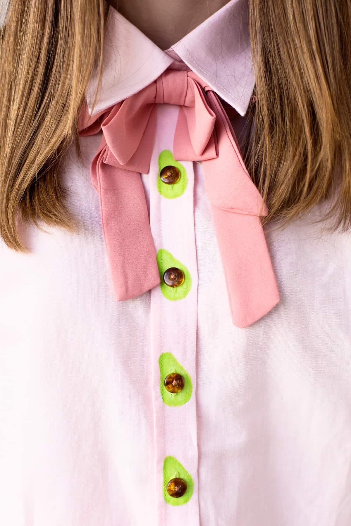 Avocado buttons