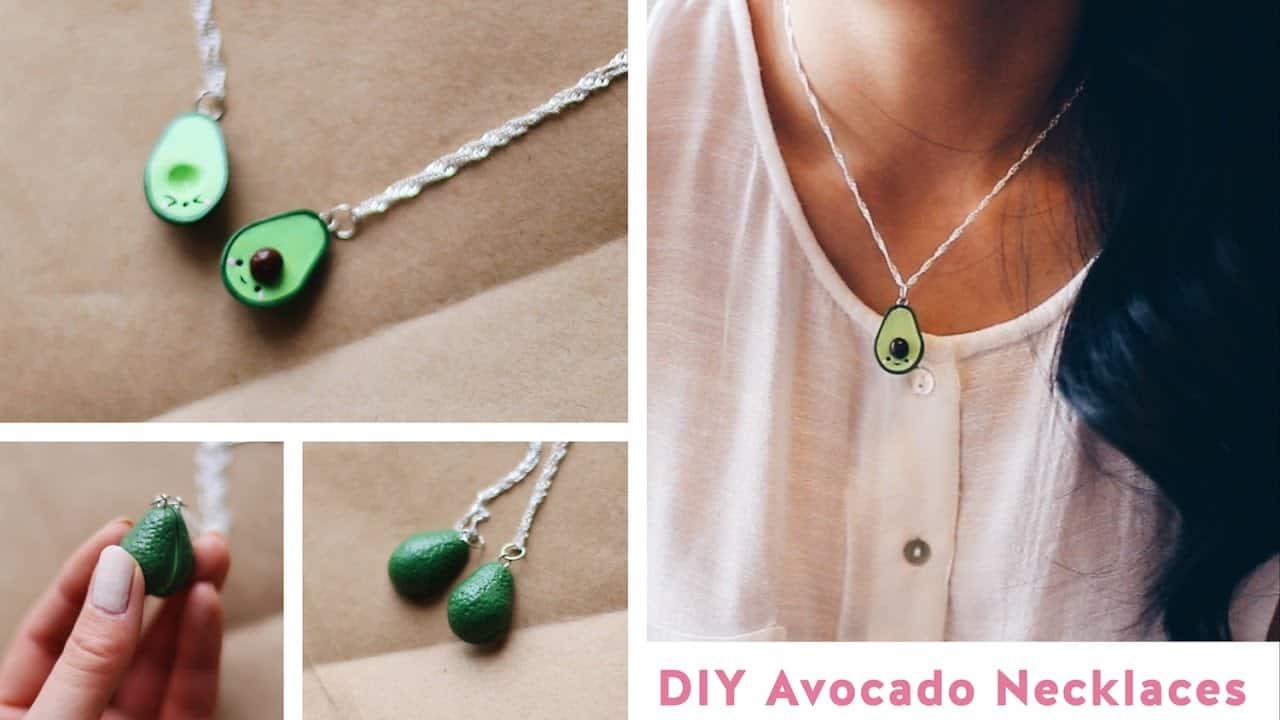 Avocado friendship necklaces