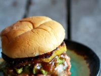 BBQ salmon pineapple burgers 200x150 Snack Away: 15 Delicious Sandwich Recipes that Leave You Wanting More!