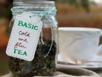 Basic cold and flu tea made at home 200x150 15 Natural Homemade Cold Remedies for Fall and Beyond