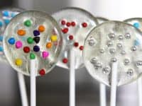 Clear sprinkle lollipops 200x150 Fun Treats Full of Flavor: Homemade Lollipops to Relish!