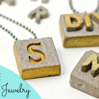 The Raw Beauty of DIY Concrete Jewelry