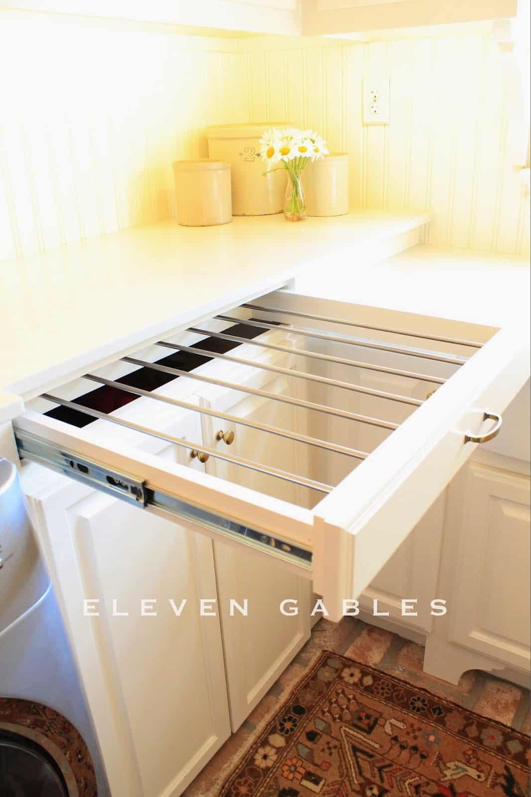 Drying rack drawer