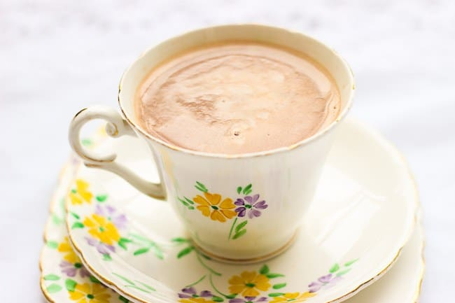 Easy four ingredient hot chocolate