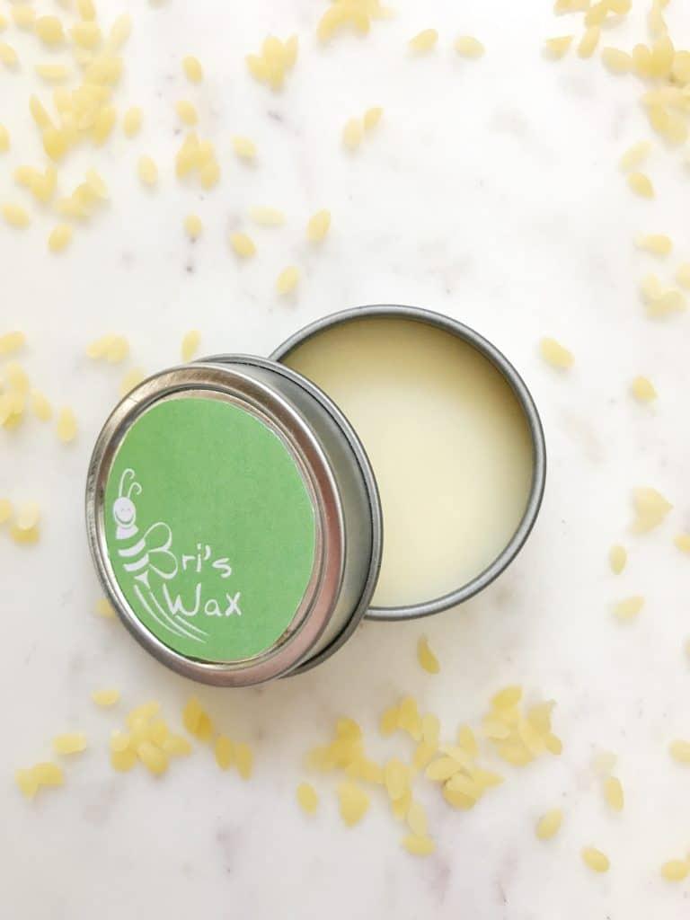 Essential oil lip balm