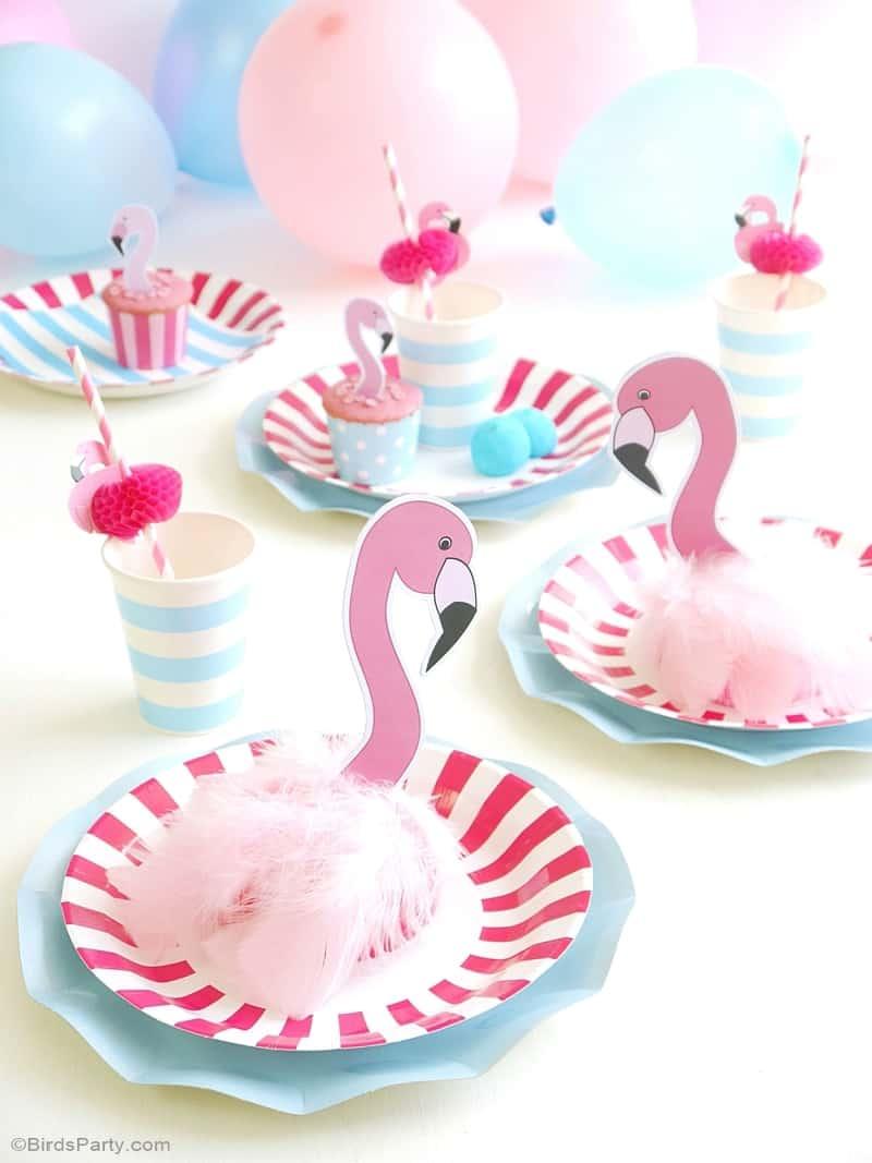 Flamingo party decor