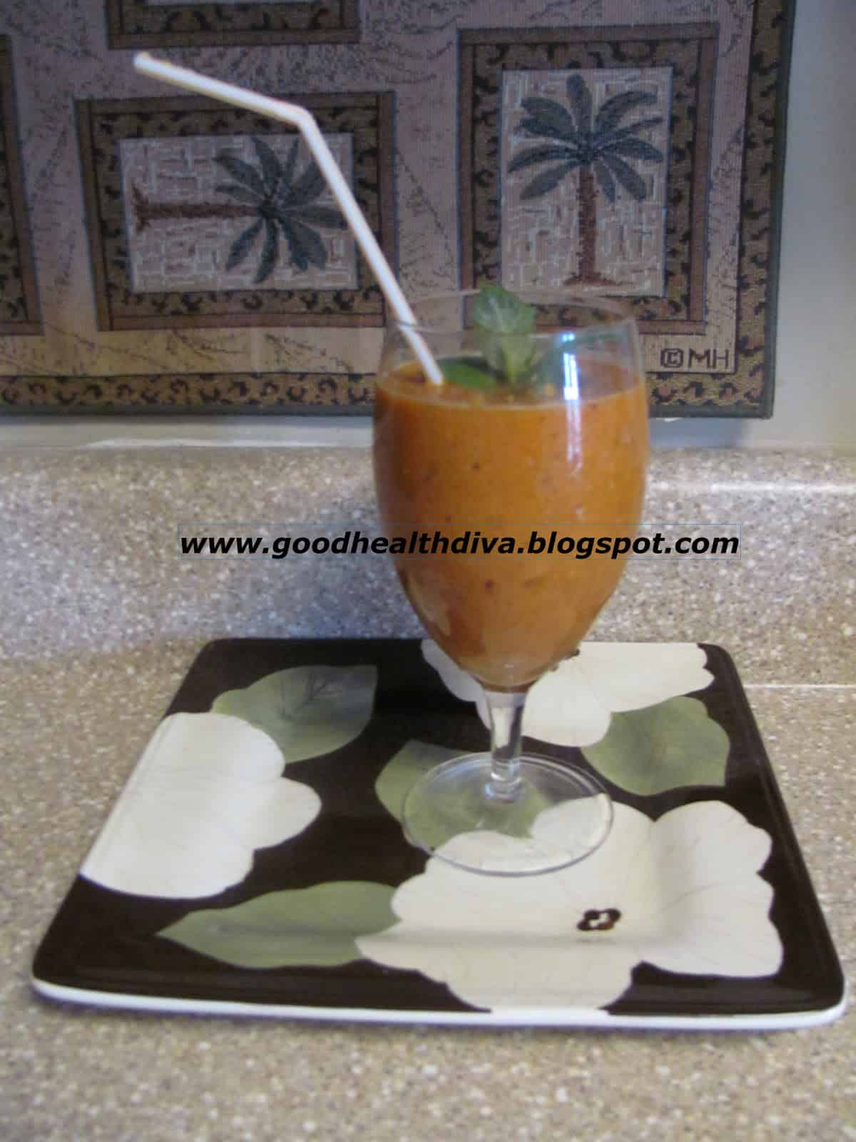 Fruit and veggie cold busting smoothie