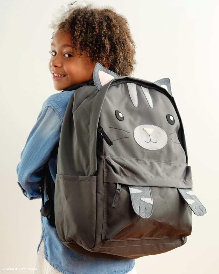 Kitten backpack