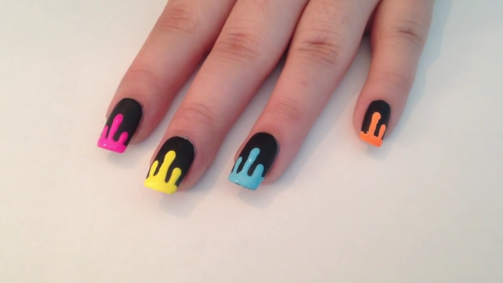 Vivid and Powerful: 12 DIY Ideas for Neon Nails
