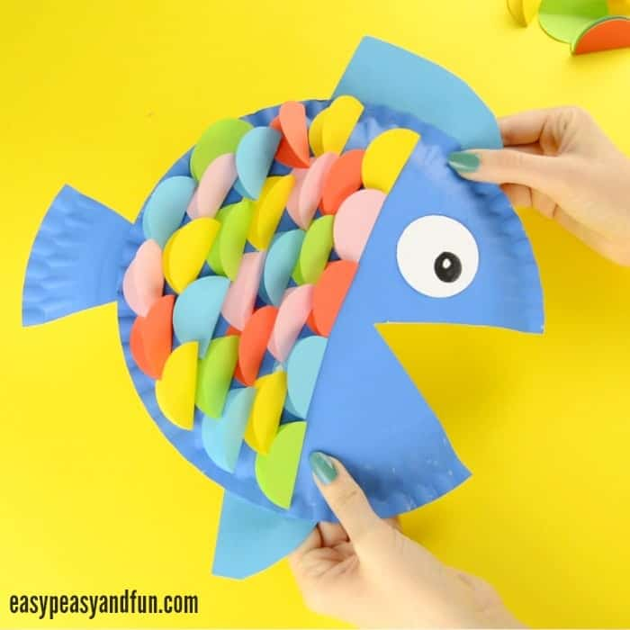 5. Paper Plate Fish  sc 1 st  Wonderful DIY & Paper Plate Crafts: A Fun and Creative Activity for Kids