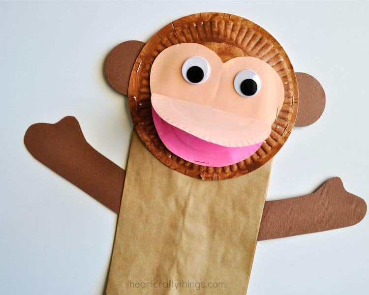 Easy Monkey Themed Crafts