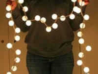 13 Fantastic DIY Ideas for Decorating Your Home with String Lights