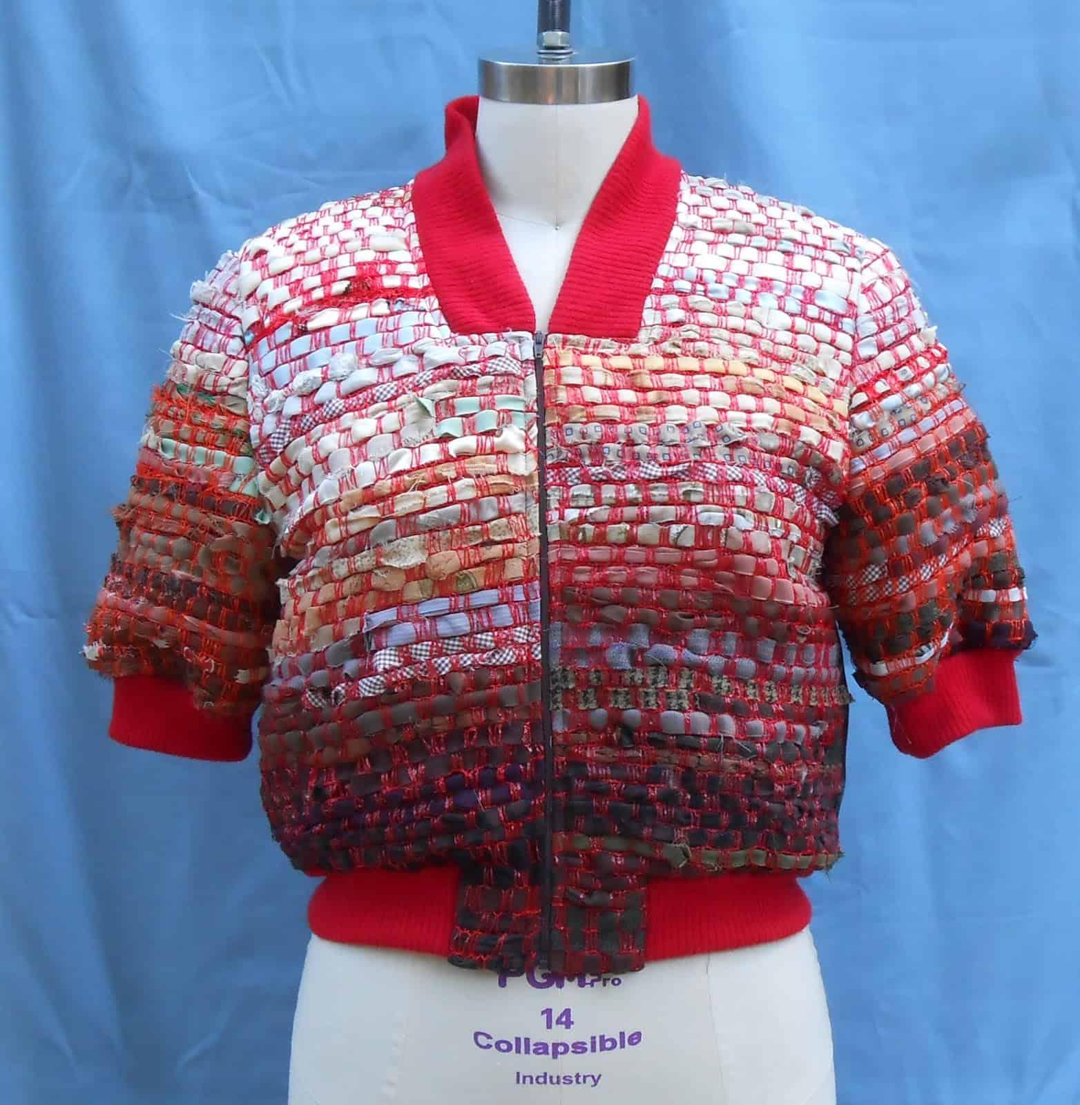 Rag woven fruit bag mesh jacket