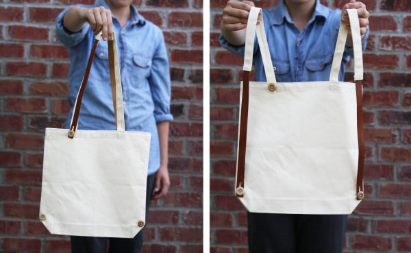 Tote bag backpack