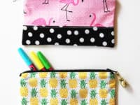 Ready for School: 15 Stylish DIY Pencil Pouches