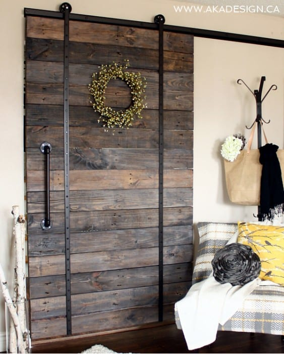 diy barn doors farmhouse inspiration with a modern twist
