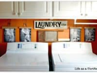Vintage laundry themed decor 200x150 Space Savvy Ideas for Everyone: Best DIY Laundry Room Hacks