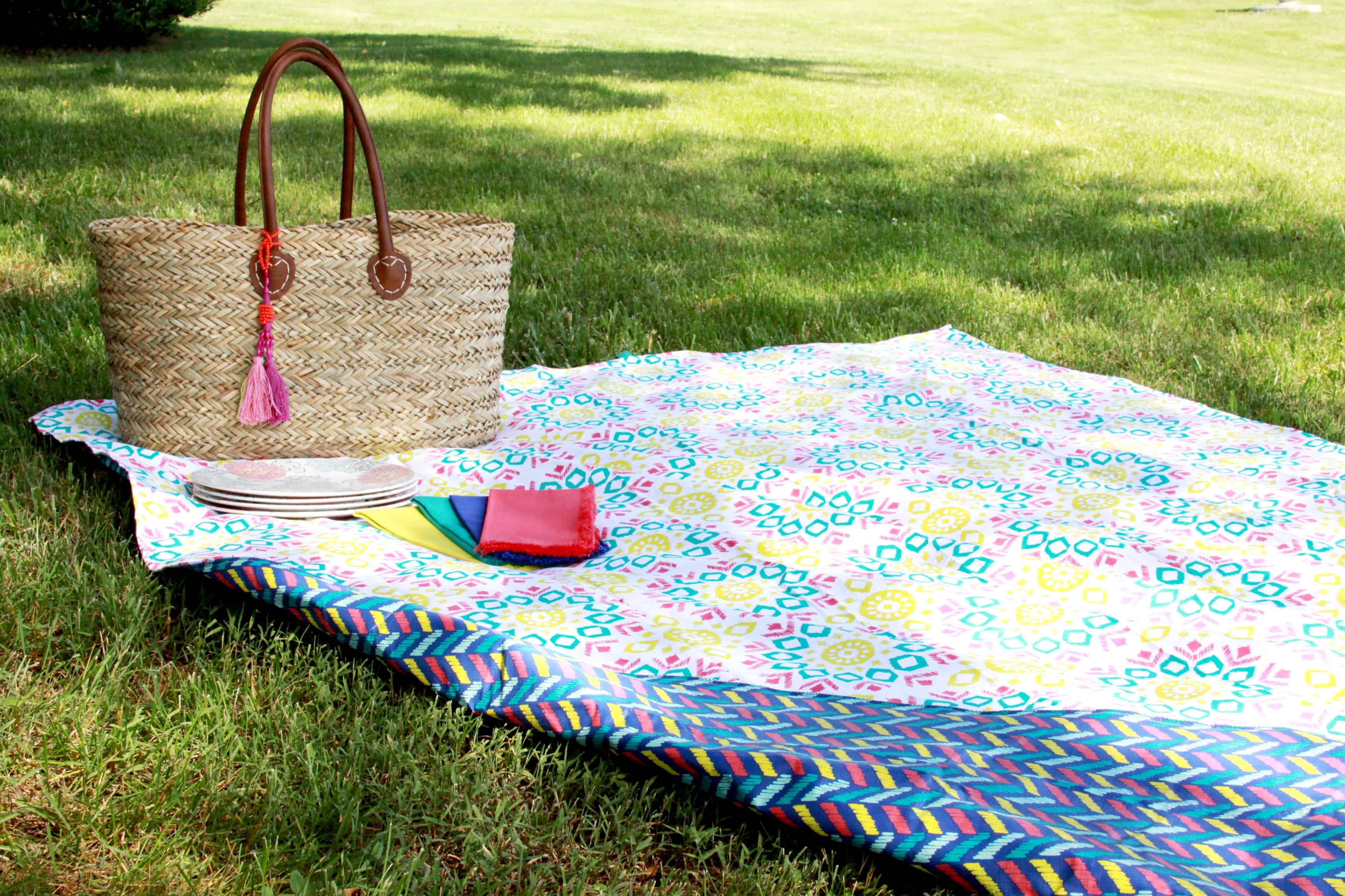 15-minute picnic blanket