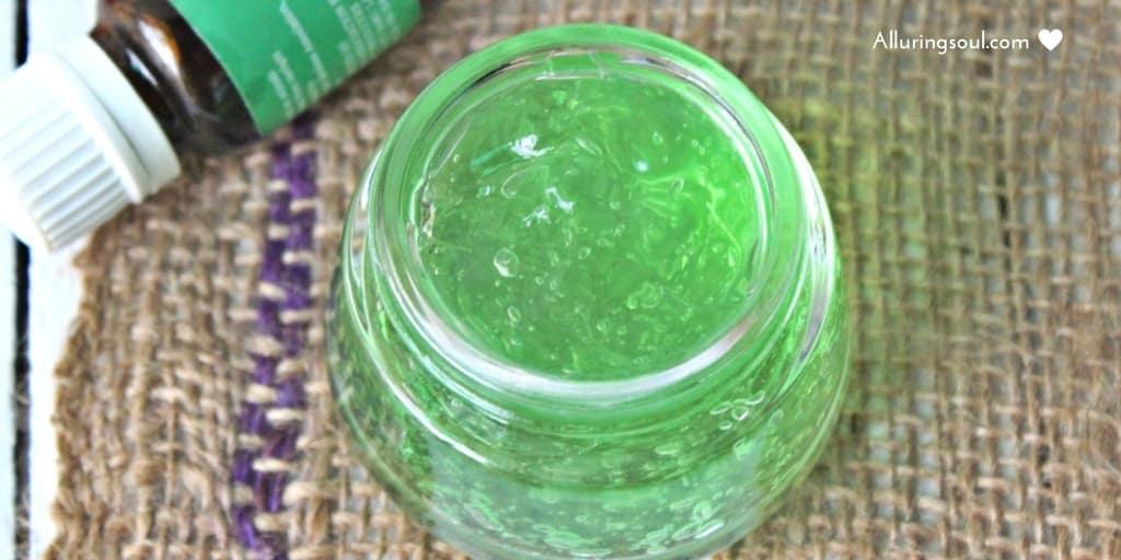 Aloe acne gel