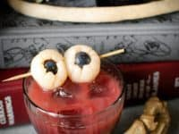 Bloody eyeball lychee cocktail 200x150 15 Spooky Halloween Themed Cocktails