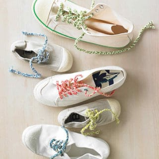 A Stylish Knot: 15 Creative Shoe Lace Designs